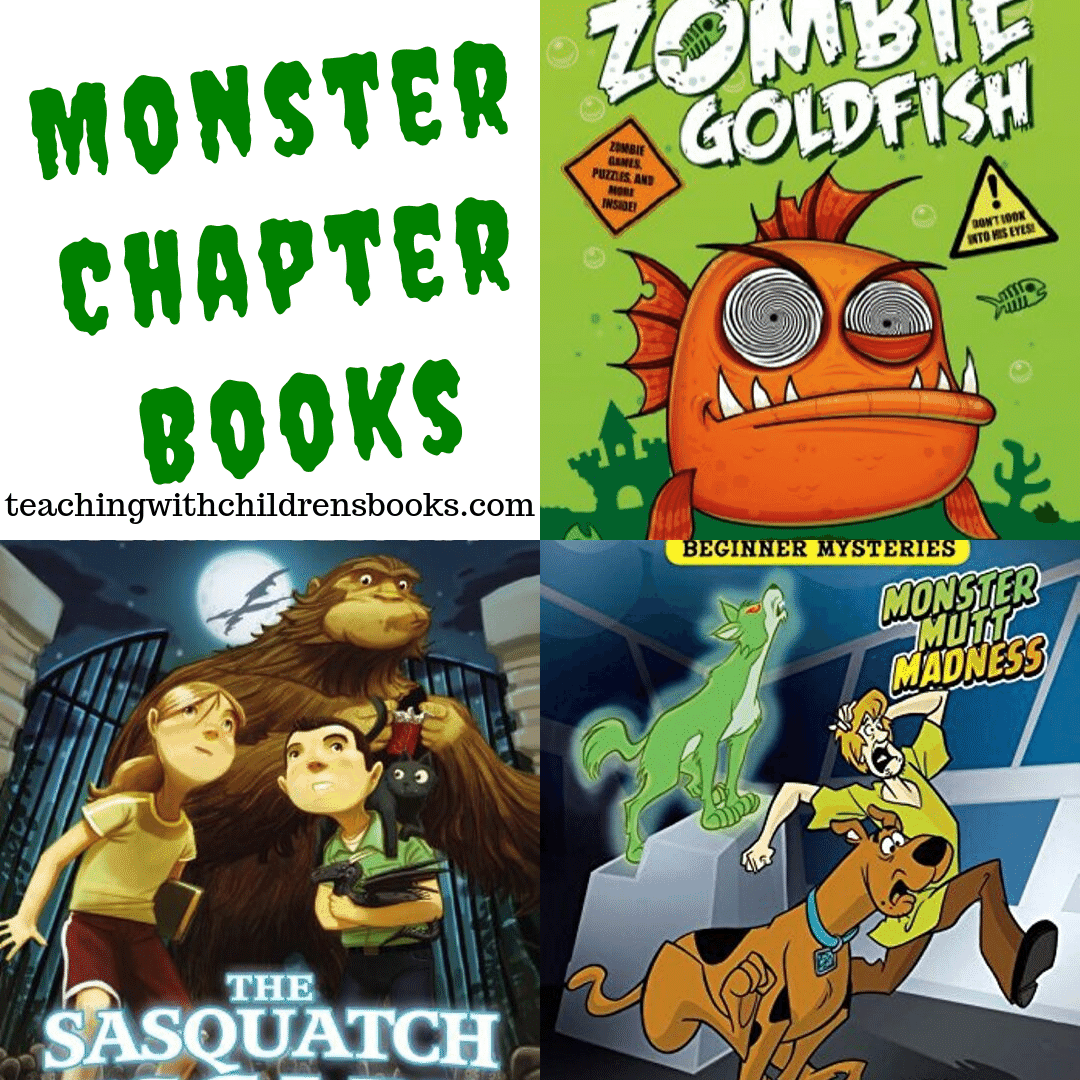 Whether you're looking for a new read-aloud or you're looking for suggestions for your reader, these monster chapter books are great for October.