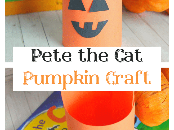 It's always more fun when you can combine craft time with story time! And with today's simple Pete the Cat pumpkin lantern craft idea - you will, too!
