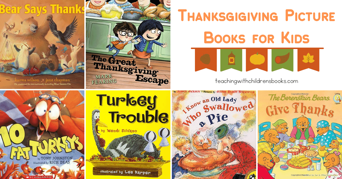 Thanksgiving is just around the corner! It's the perfect time to curl up with one of our favorite Thanksgiving picture books for young children.