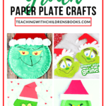 This Christmas, your kids will love making one or more of these Grinch paper plate craft ideas! They're perfect alongside this holiday classic.