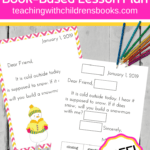 It is so much fun to teach how to write a friendly letter for kids. Introduce the layout with picture books, and practice with these printables.