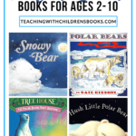 Fill your winter book basket with some polar bear books for kids. Find fiction and nonfiction polar bear picture and chapter books for kids ages 2-10.