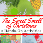 Young children will love The Sweet Smell of Christmas lesson plan complete with a sensory activity, graphing practice, and writing prompt for PreK-1!