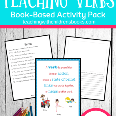 How To Teach Verbs with Picture Books