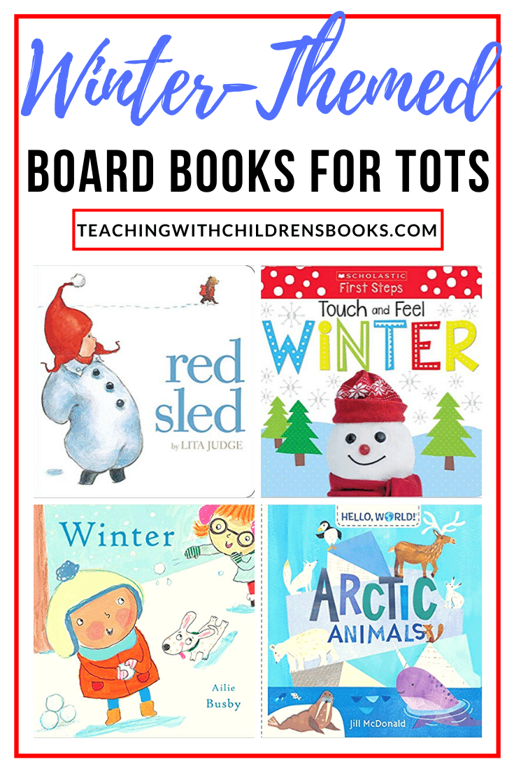 Fill your book basket with a wonderful collection of winter themed books for toddlers. These chunky books are perfect for little hands!