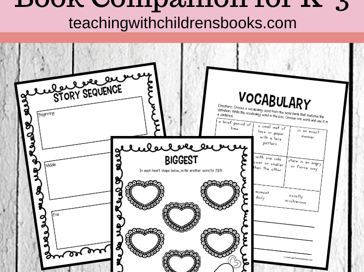 This February, add these The Biggest Valentine Ever activities to your holiday book studies. Your students will love this Valentine book!