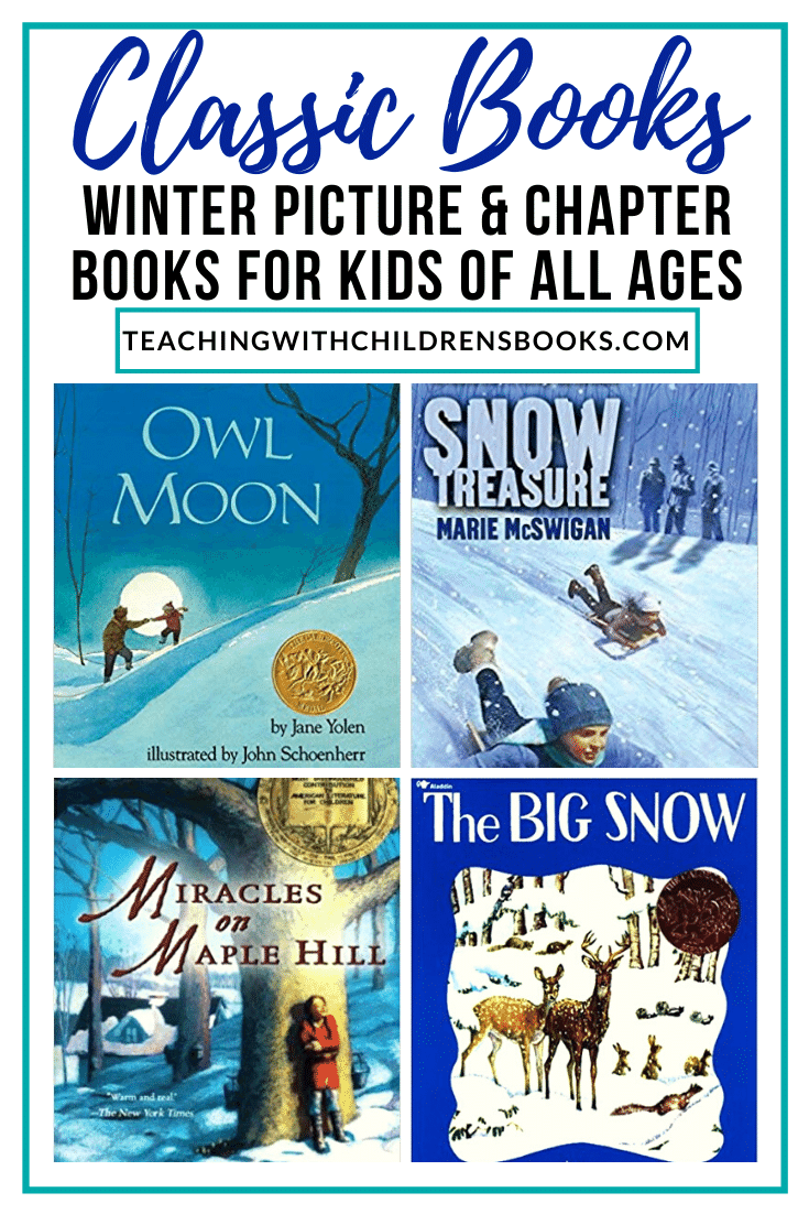 These classic winter children's books are sure to evoke memories as you read them to your kids. Discover a mix of picture and chapter books!