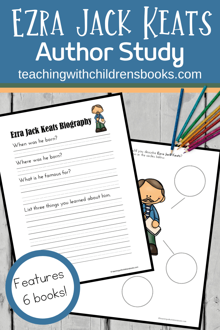 This Ezra Jack Keats author study is full of hands-on activities kids in grades K-2 will enjoy! The free thirty-page printable brings the books to life.