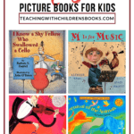 These picture books about music will help you teach your students about music, composers, and everything in between. Great for kids of all ages!