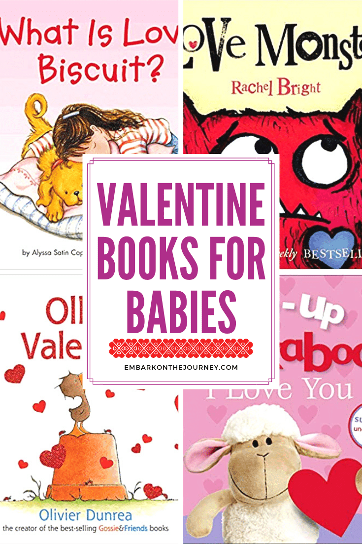 This February, stock your book basket with Valentine books for babies. These board books are perfect for your youngest listeners.