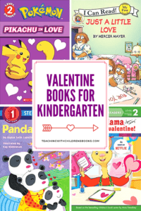 This February, stock your bookshelves with one or more of these festive Valentine books for kindergarten. Engage your young readers this holiday season.