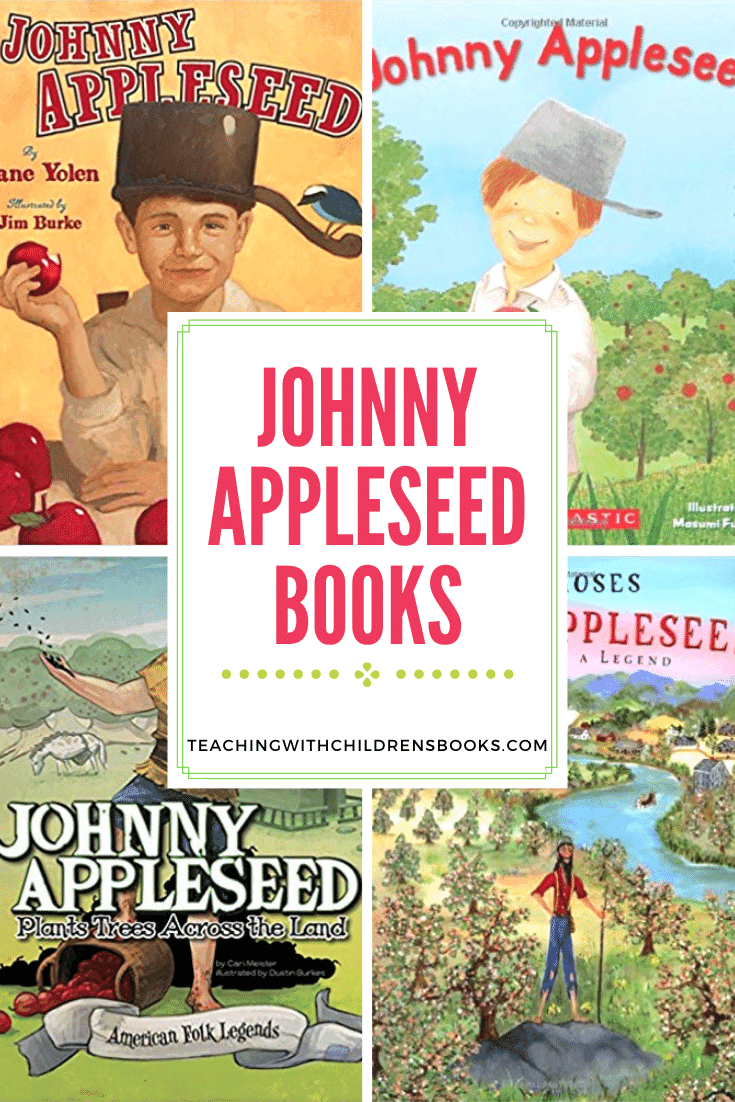 As Johnny Appleseed Day rolls around on March 11, add one or more of these Johnny Appleseed books for preschool to your reading list.