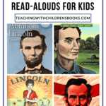 We love reading about famous people, and these Abraham Lincoln read aloud ideas are perfect for February and President's Day reading lists.