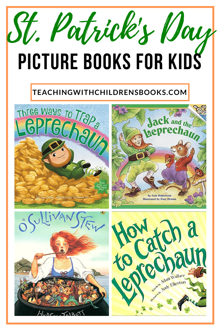 Your children will be lucky to find these St Patricks Day childrens books on your bookshelves this March! Celebrate St. Patrick's Day with a good book!