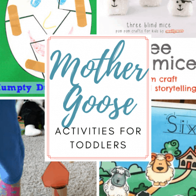 Mother Goose Activities for Toddlers