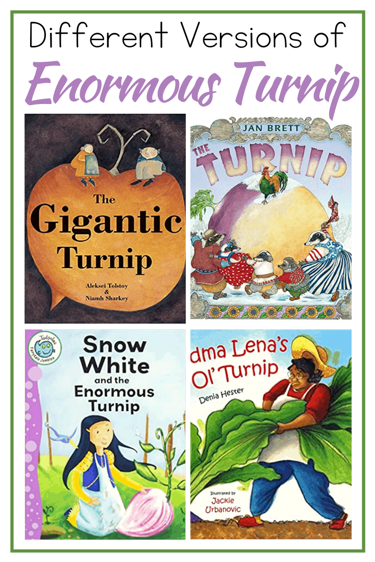 Discover 15 versions of the Enormous Turnip story from different authors and cultures. These are perfect for comparing and contrasting story elements.