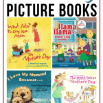 These Mother's Day books are perfect for sharing the special relationship between a mom and her children. Each makes a great gift and/or keepsake.