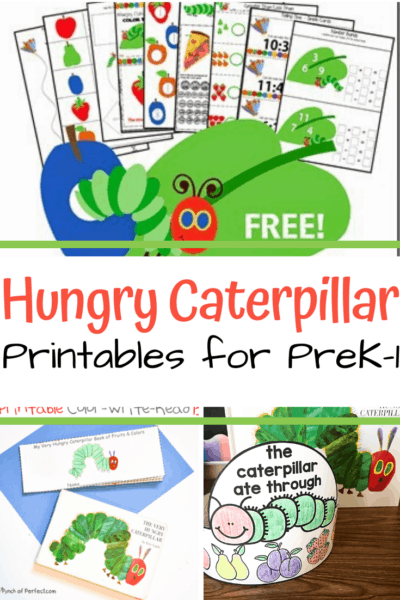 Young learners will love this amazing collection of The Very Hungry Caterpillar printables! Find activities for grades PreK-2.