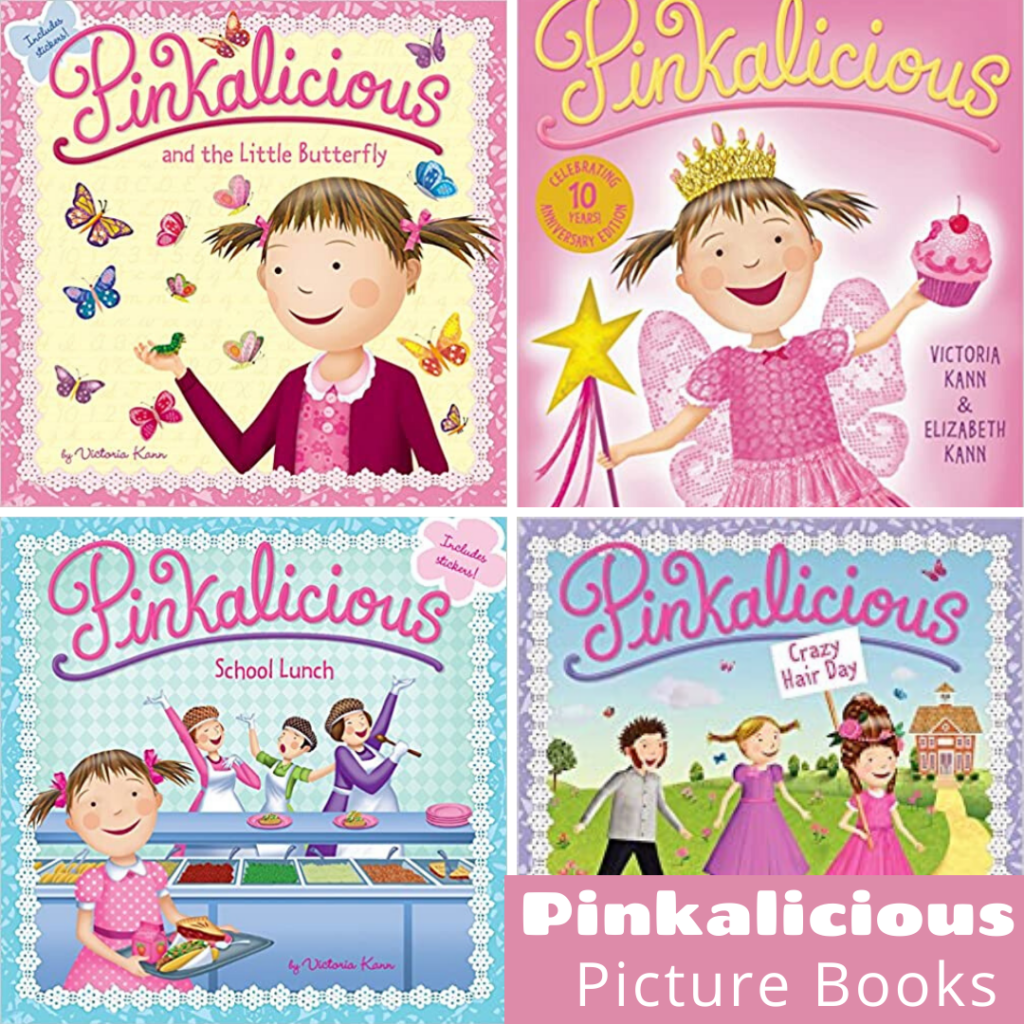 Pinkalicious fans will not want to miss any of the Pinkalicious books on this list! There are books for holidays, seasons, and every day! They're perfect for young readers and listeners alike.
