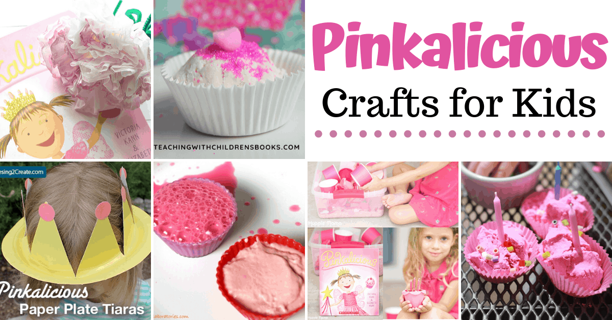 These Pinkalicious crafts and activities allow young learners to dive deeper into their favorite stories. You'll find science experiments, crafts, sensory ideas, and more!