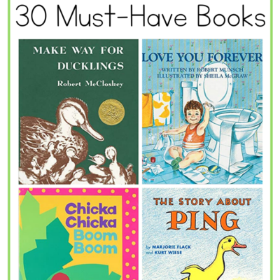 30 Must Have Picture Books