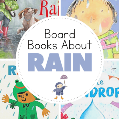 Books About Rain for Toddlers