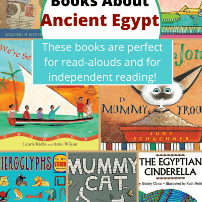 Kids Books About Ancient Egypt