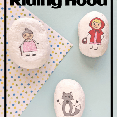 Little Red Riding Hood Story Stones