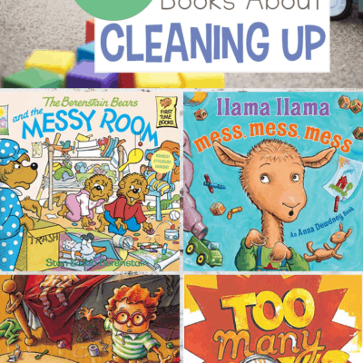 Picture Books About Cleaning Up