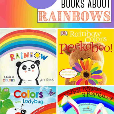 Rainbow Books for Toddlers and Preschoolers