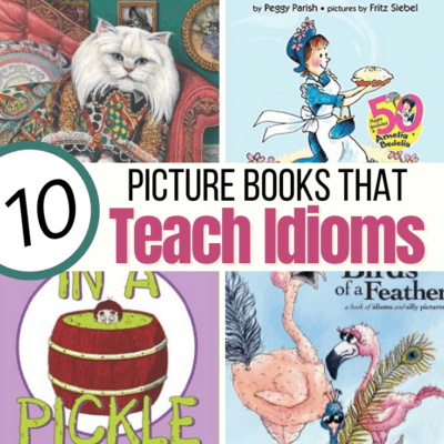 Teach Idioms with Picture Books