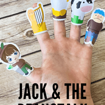 Jack and the Beanstalk Finger Puppets Printable
