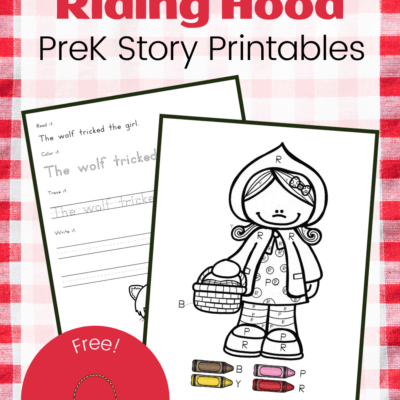 Little Red Riding Hood Printable